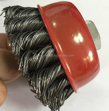 SAR knot wire cup brush