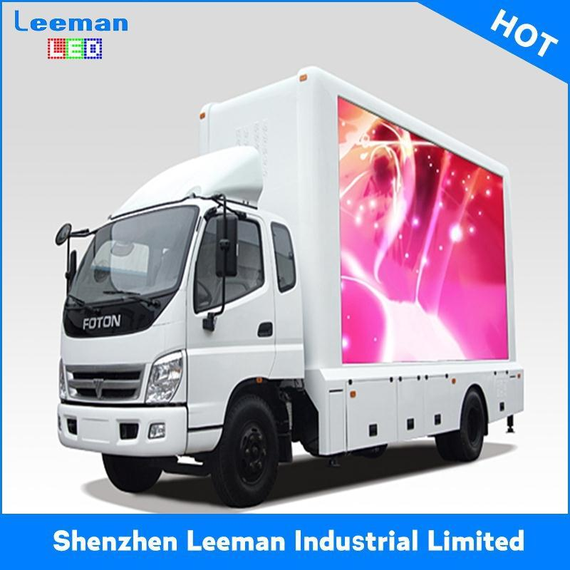 digital billboard p10 truck bus outdoor color mobile screens p12 full colo rmobile led electronic moving message display