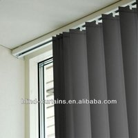 PVC slat vertical window blinds