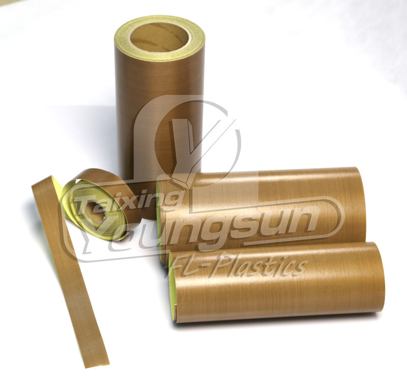 Heat resistance teflon adhesive tape with same quality of TACONIC