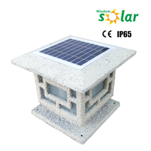 Factory Supply Square Shaped Outdoor LED Solar Garden Fence Lights for Global market