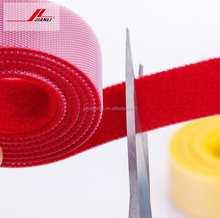 Hook and loop self adhesive tape, double side back to back hook and loop