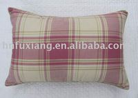 Guaranteed 100% good quality poly/cotton bolster cushion