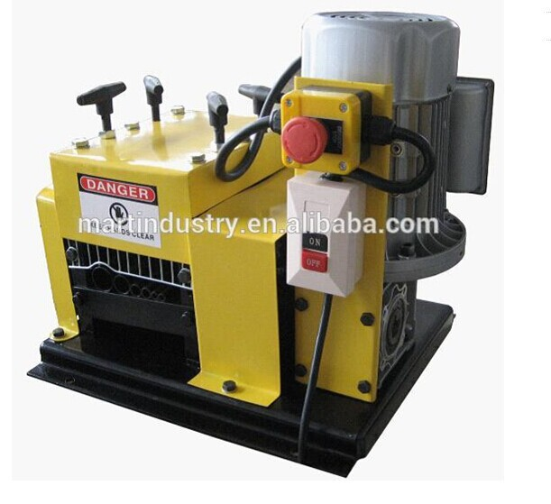 MT-006 6 Round Cutting Channels electric wire stripper/cable peeling machine in cable making equipment