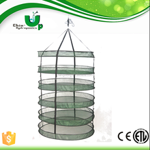plant herb drying net/ polyester dry rack/ normal white garlic