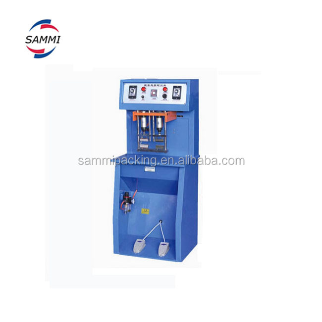2017 new product aluminum tube sealing machine with date stamp
