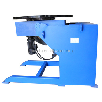1200kg welding rotary positioners/tilting rotary table/automatic welding positioner