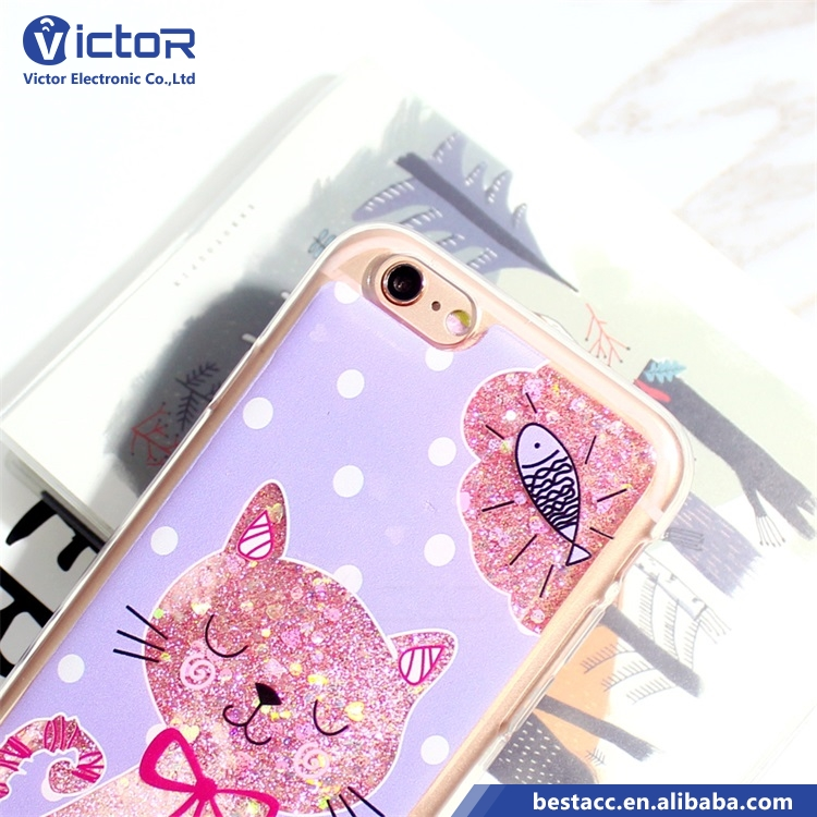 Guangzhou china most popular product phone case custom TPU case with drop glue in the inside for iphone7