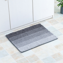 Microfiber Color Changing Living Room Bath Mat Floor Rubber Mat