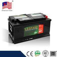 wholesale 58815 DIN MF sealed lead acid rechargeable automotive 12v 90ah car battery