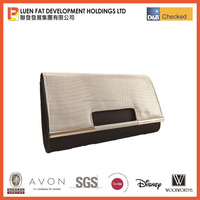 Snake Skin Fabric Clutch bag