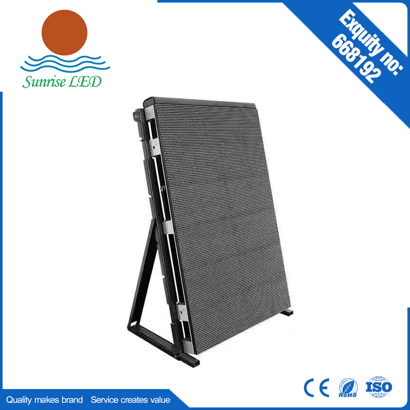 hd p20 outdoor transparent glassy led video screen outdoor mobile led screen Sports Stadium Perimeter LED display