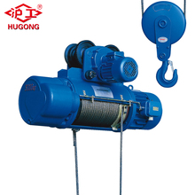 10 ton wire rope electric cable hoist with electric motor