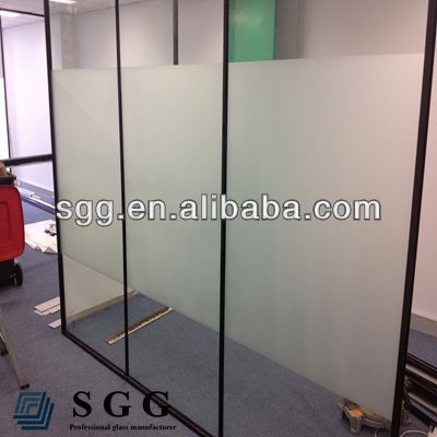 High quality glass acid etching