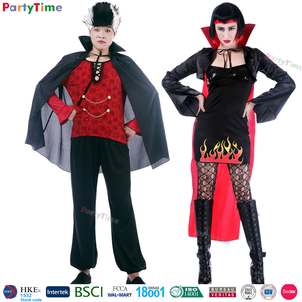 vampire and pirate style costume, couples halloween costumes