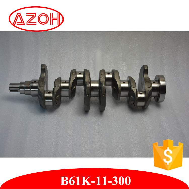 Top Quality Car Engine Parts Crankshaft B61K-11-300 for mazda BJ 1.6 ZM