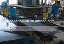 Mineral concentrate shaking table for gold, zircon, chrome, tin ore separation equipment