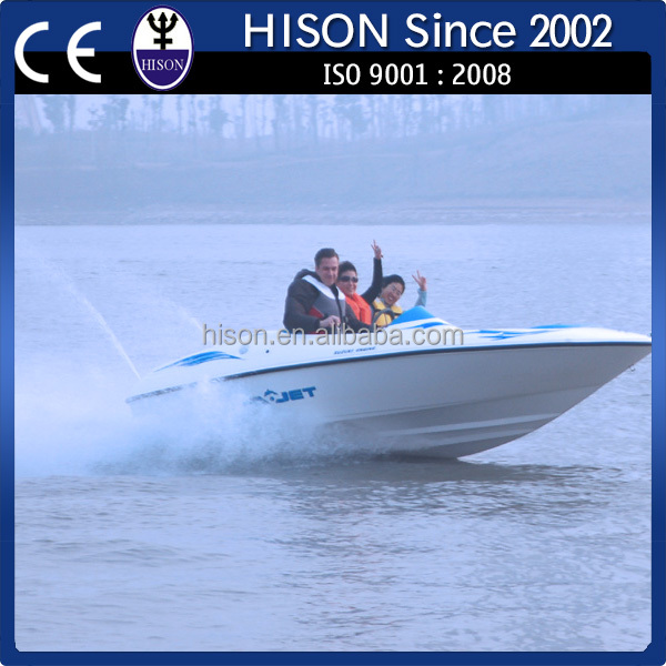 Hison factory direct jet boat water taxi for sale