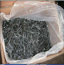 25kg/carton Bulk Packing Common Wire Nails