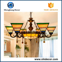 Led lamp Indoor home decor crystal chandeliers price