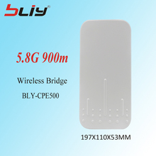 5.8G Hz 900M long range outdoor wireless ethernet power transmission module point to point network wifi bridge mode adapter