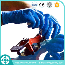 EN374 working disposable nitrile industrial protective gloves