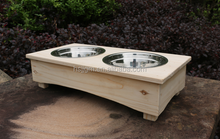 Outside Elevated Dog Kennels Feeders