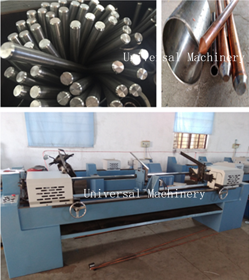 China Top suppliers Double Head Chamfering Machine for pipe wire rod