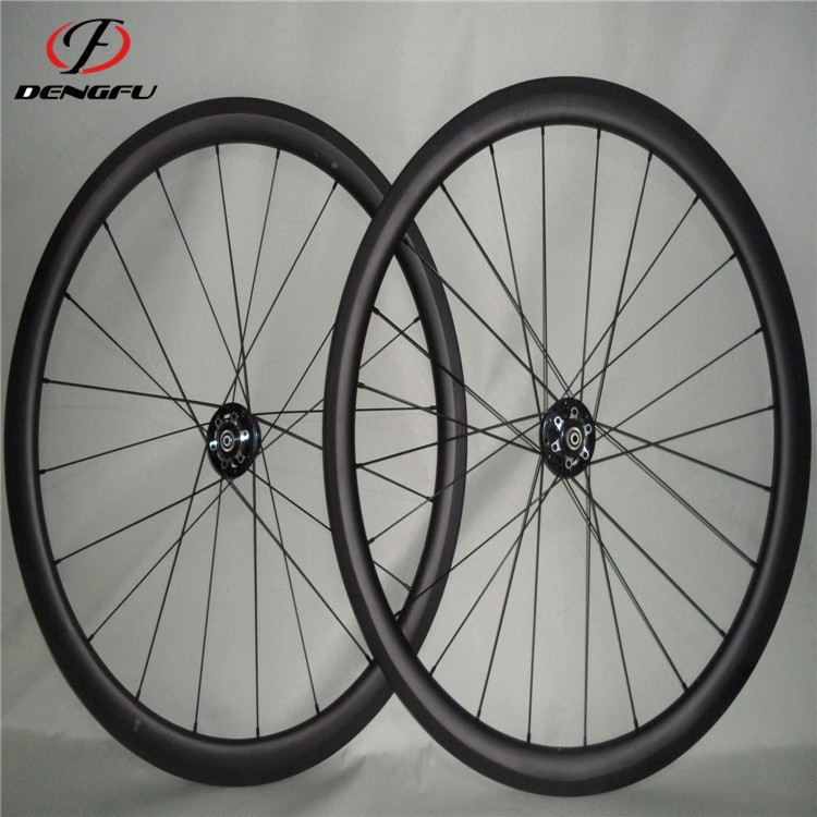 Road bike carbon wheelset Tubular 700C 40MM bicycle wheels carbon road