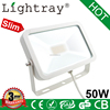 CE ROHS approved ip65 floodlght 50w ultra slim led with high brightness with 3years warranty