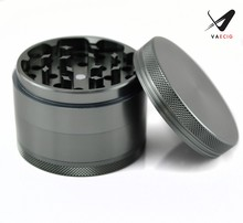 Herb/Weed/Tobacco/Spice Grinder Large 3.2 Inch 4 Piece Anodized Aluminum Grinder with Pollen Catcher & Scraper