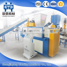 Brand new plastic film squeezing dewatering machine with high quality