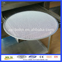 stainless steel pizza screen/aluminium expanded mesh disc