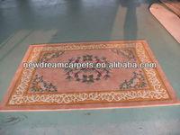 Natural wool carpet,glorious handmade carpet