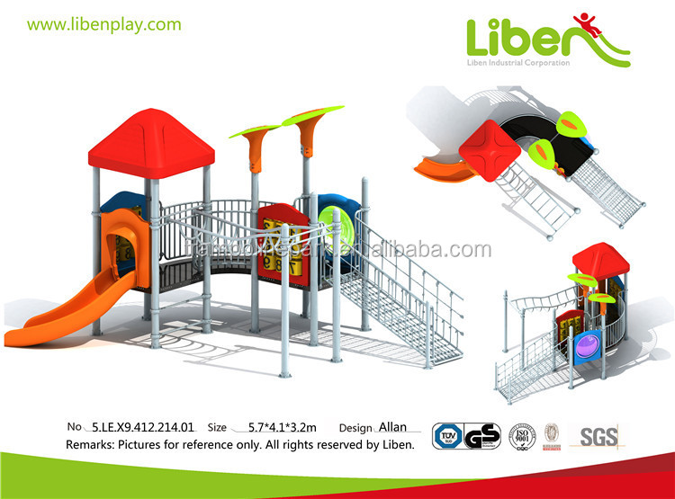 Liben professional made heavy duty outdoor play ground