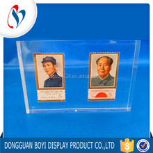 Dongguan Supplier OEM/ODM High Quality Acrylic Photo Holder Clear Glass Paper Photo Frame