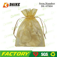 Exporters Cheap Organza Promotional Drawstring Shopping Bag