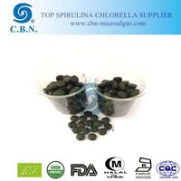 Women bodybuilding food supplements spirulina tablet