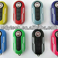 Flip Remote Key Case Shell For