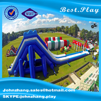 good quality giant inflatable adult / used slides for sale/inflatable water slide