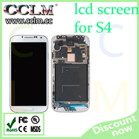 wholesale price for samsung galaxy S4 lcd display, lcd touch screen replacement for S4 i9500