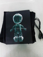 USB Recharged Lithium battery Drived LED Sound-Active T-Shirts