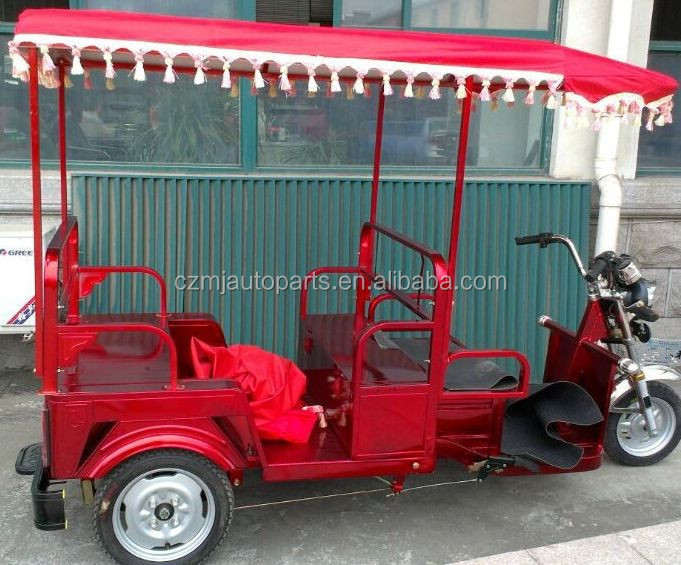 Cheap price bajaj three wheel electric tricycle with passenger seat on sale,electric passenger tricycle tuk tuk