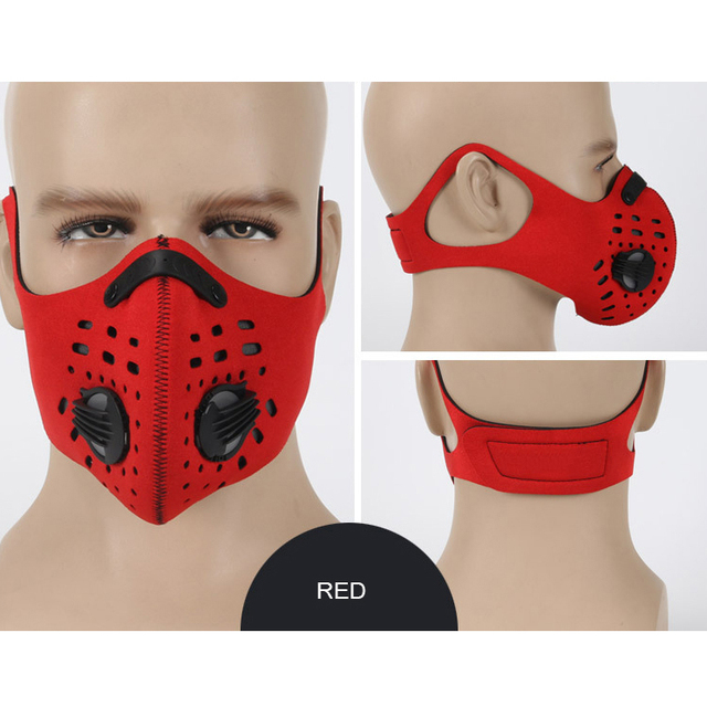 Popular Fashion Half Face air soft Mask Mouth And Nose Masks