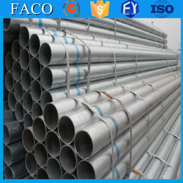 trade assurance supplier bs1387 galvanized tube 6 inch dipped galvanized pipes (g.i pipes)