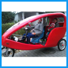 electric 3 passenger bike taxi tricycle for rental