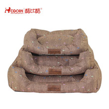 Hot selling fashionable Detachable Cheap discount painted pet bed house luxury