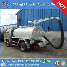 FOTON sewage suction tanker truck,small used septic tank trucks
