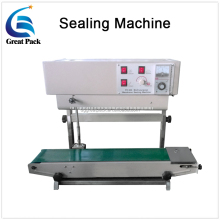 Horizontal continuous aluminum foil bags heat sealing machine