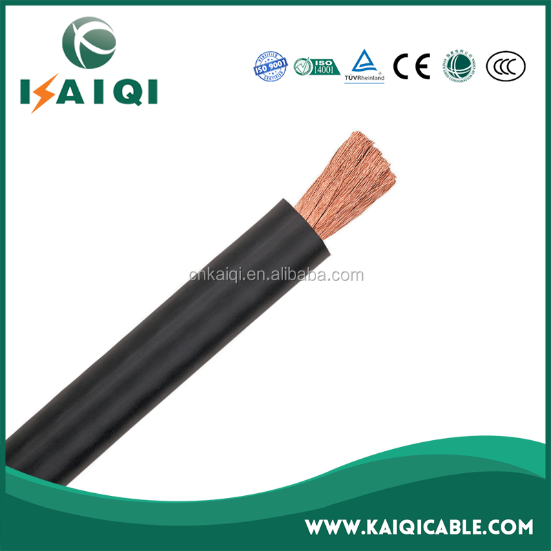 Competitive Price Copper Wire Conductor Rubber Insulated Welding Cable 70mm